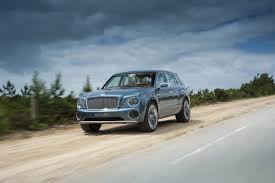 modified bentley bentley ceo says suv nearing final approval will feature a