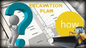 excavation plan civil engineering how to read engineering