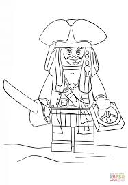 lego jack sparrow coloring page free printable coloring pages