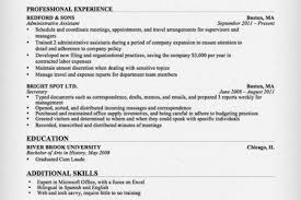 Administrative Assistant Job Resume Examples by Administrative Assistant Job Resume Reentrycorps