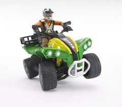 bruder farm toys bruder quad with driver wolds agri limited