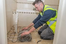 electric underfloor heating installation professional builder