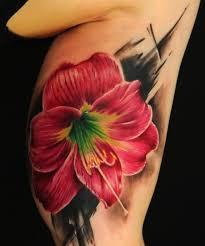 Large Flower Tattoos On - flower amaranth