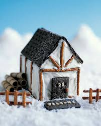 what makes a house a tudor gingerbread houses and no bake cookie cottages martha stewart