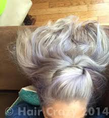 clairol shimmer lights before and after silver hair forums haircrazy com