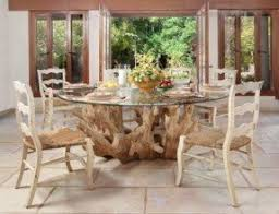Glass Topped Dining Room Tables Wood Base Glass Top Dining Table Foter