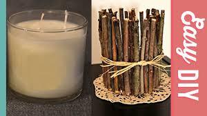 twig home decor diy twig candle holder diy joy