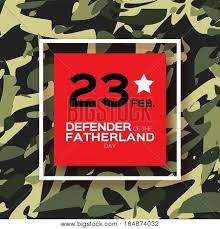happy defender fatherland day 23 vector u0026 photo bigstock