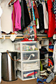 organizing our master closet with unique items