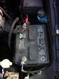 mustang battery how to replace battery on 2003 ford mustang imthemechanic com