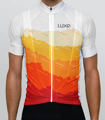 tenerife cycling jersey by luxa inspired by a sunny tenerife