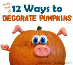 No Carve Pumpkin Decorating Ideas Pumpkin Decorating Ideas For No Carve Pumpkins Without A Knife