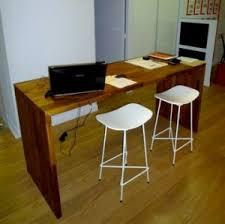 plan de bureau en bois flip design fabricant de plan de travail en bois massif sur