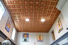 Talissa Decor Talissa Decor Diy Pvc Faux Tin Ceiling Tile 215 Gold Red