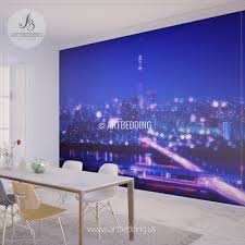 wall murals peel and stick self adhesive vinyl hd print page 5 tokyo night with blur bokeh lights cityscape wall mural tokyo photo sticker japan wall