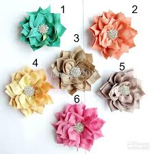 flowers for headbands 2018 ems diy flowers with starburst button kanzashi fabric flowers