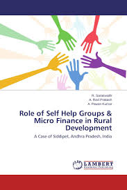 of self help groups micro finance in rural development 978
