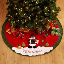christmas tree skirts personalized snow cap christmas tree skirt walmart
