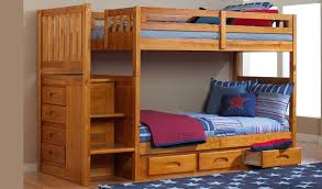 Bunk Beds With Trundle Bed Bunk Beds With Stairs Stackable Bunk Bed With Storage Stairs And