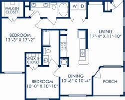 Bathroom And Walk In Closet Floor Plans 1 2 U0026 3 Bedroom Apartments In Tampa Fl Camden Bay
