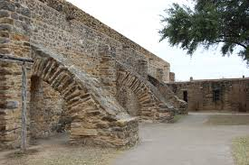 file flying buttresses mission san jose jpg wikimedia commons