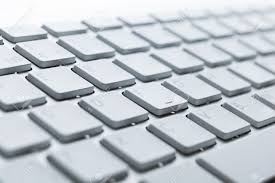 Laptop With Light Up Keyboard Close Up Of Keys Of Light Laptop Keyboard Stock Photo Picture And