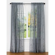 Blue Grey Curtains Blue Grey Review Of United Curtain Co Sedona Embroidered Semi