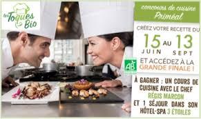 concours cuisine priméal lance 1er concours de cuisine bio et végétale en