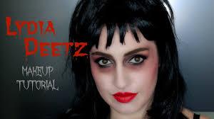 lydia deetz makeup tutorial youtube