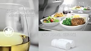 premium cuisine air canada discover premium economy class