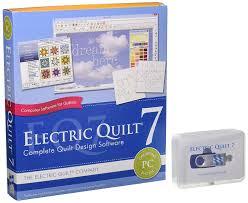 amazon com electric quilt 7 arts crafts u0026 sewing