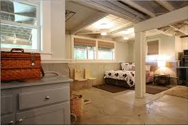 Ideas For Unfinished Basement Inspirations Basement Bedroom Unfinished Ceiling Inspiring Cheap