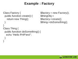 php design patterns design patterns in php php team