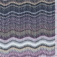 sweater knit fabric purple stripe sweater knit 22634 fashion fabrics