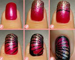 25 very easy u0026 simple step by step nail art tutorials for