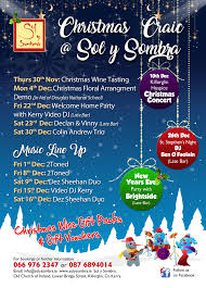 christmas party night with 2toned sol y sombra tapas bar
