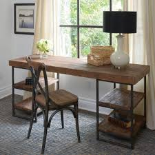morella desk desks industrial and iron