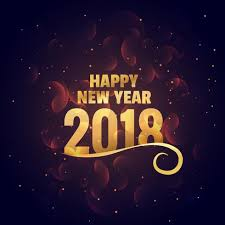 greeting for new year happy new year golden background greeting free vector