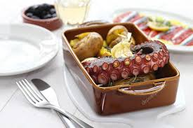 cuisine portugaise pieuvre grillée avec pommes de terre polvo lagareiro cuisine