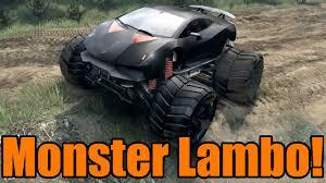 monster trucks on youtube videos spin tires lambo monster truck youtube