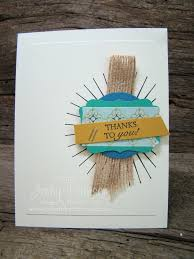 thank you card stampin u0027 up lakeshore stamping