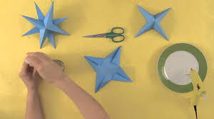 how to make a star to decorate your christmas tree christmas