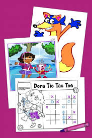 dora printables free birthday coloring sheets printable