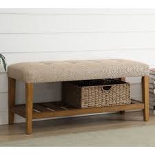 Otterville Wood Storage Entryway Benchindoor Wooden Bench Diy by Reclaimed Wood Bench Seat Wayfair