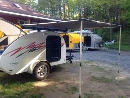 Awning Guy Little Guy 5 Wide With Roof Racks And Awning Teardrop Trailers
