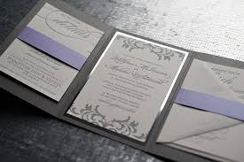 purple and silver wedding invitations silver wedding invitations cloveranddot