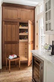 kitchen pantry cabinet oak oak kitchen pantry with pull out shelves transitional