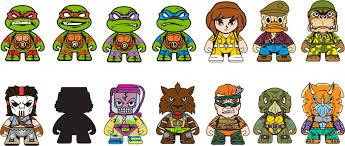 Blind Ninja Teenage Mutant Ninja Turtles Shell Shock Blind Box Ikon