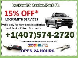 Locksmith Azalea Park Coupon Azalea Park  Florida