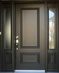 Awesome Front Doors Awesome Exterior Wood Doors With Glass Panels Verambelles